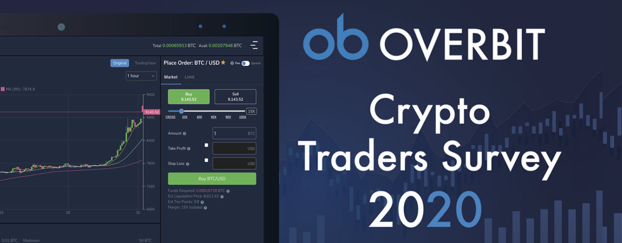 Overbit survey of 2,500+ crypto traders reveals key influences and patterns that affect trading decisions