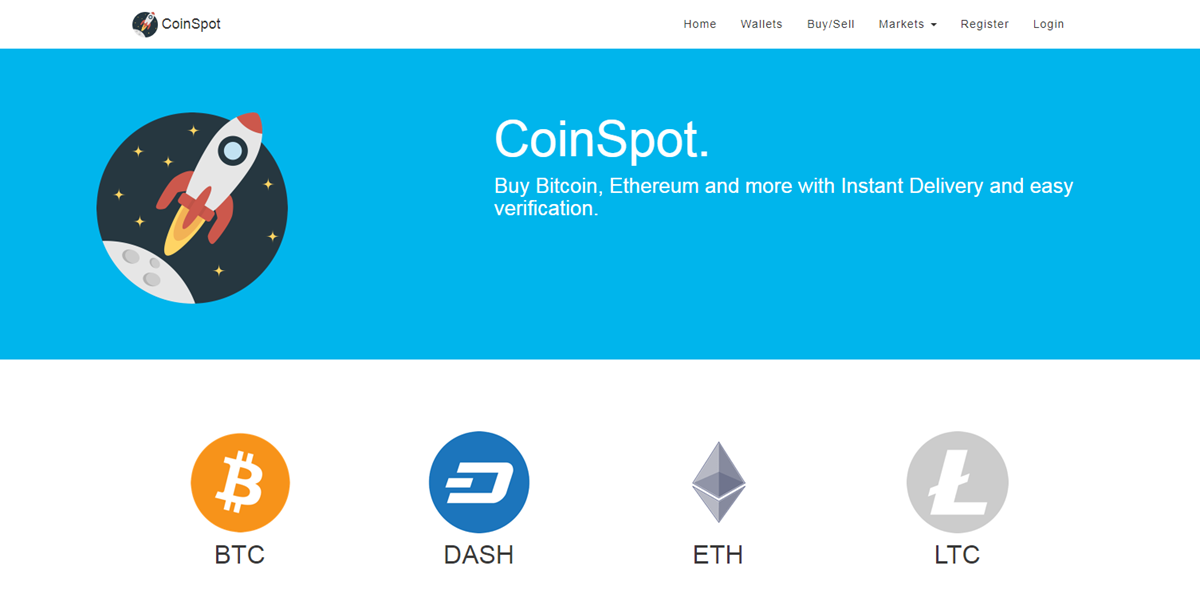 buy bitcoin australia at CoinSpot