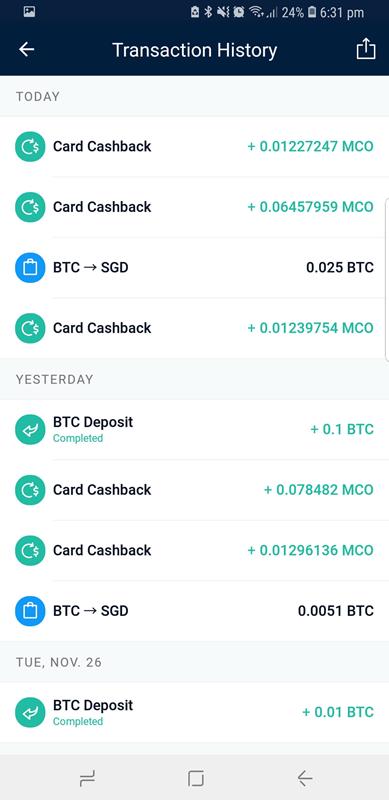 monaco mco card cashback
