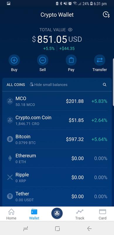 mco card crypto wallet