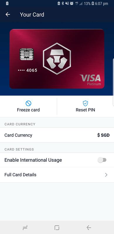 monaco debit card crypto com red