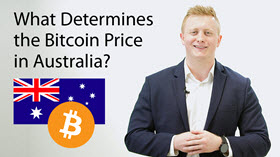 What Determines the Bitcoin Price in Australia