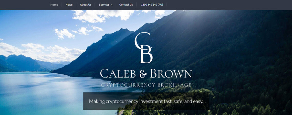 buy bitcoin australia at Caleb and Brown