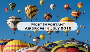 Most Important Airdrops in July 2018