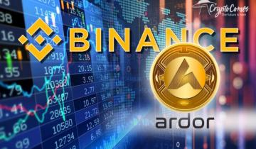 Binance, Largest Crypto Exchange, Adds Ardor (ARDR) Token, Boosting its Price