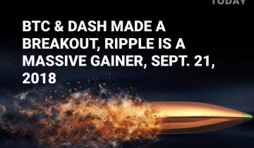 Bitcoin is above the current level major resistances, Dash shows of bullish signs, Ripple is a massive gainer