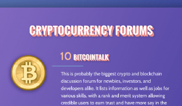 21 Places to Learn How Cryptocurrency Works and How to Invest in It [Infografic]