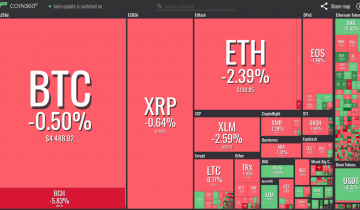 Crypto Markets Shaky but Most Top Coins See Only Mild Losses