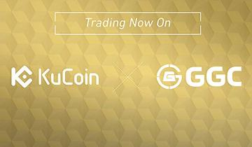 KuCoin Crypto Exchange Proudly Announcing the Listing of Gram Gold Coin Collaboration GGC