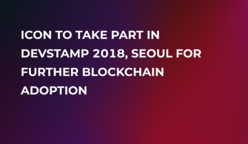 ICON (ICX) To Take Part in DevStamp 2018 Event, South Korea