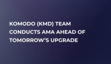 Komodo (KMD) to Make Sapling Update on December 15, Launches AMA Session on Twitter Today