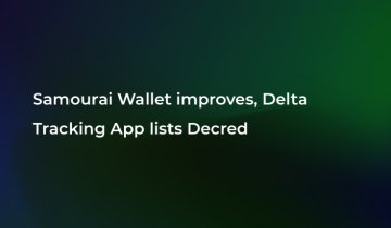 Crypto Apps Expand in Market: Delta Lists Decred (DCR), Samourai Wallet Launches Update