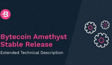 Sea-Change for Bytecoin with the Full Release of Amethyst