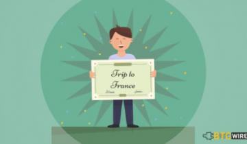 Blockchain Startup Wins a Trip to France to Meet Major Defence Companies