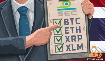 Bitcoin, Ether, XRP, and Stellar Lumens Accepted for ICO Purposes, Says Thai SEC