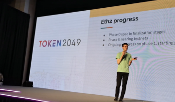 Vitalik Buterin at TOKEN2049: Encouraged by Growth of Ethereum Ecosystem