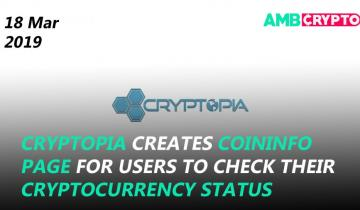 Cryptopias new update on funds, TRX Dapp Weekly Report, and more