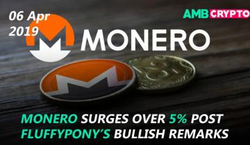 Monero surges by 5%, Tron DApp count reaches 246, and more