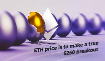 ETH price is to make a true $250 breakout – Does the Golden cross signify golden times?