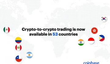 Coinbase Forays Into 11 More Countries with Its Crypto-to-Crypto Trading Services