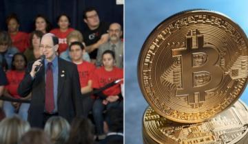 Bitcoin-Bashing Democrat Calls for Blanket Ban on Cryptocurrencies