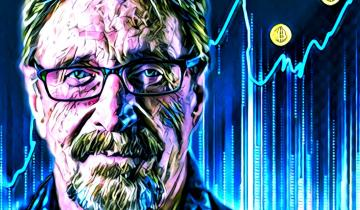 Bitcoin Growth Is Unstoppable, Says McAfee
