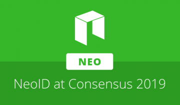 Peter Lin outlines NeoID objectives in presentation at Consensus 2019