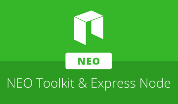 John deVadoss & Longfei Wang introduce NEO Toolkit for Visual Studio and NEO Express Node at Consensus 2019