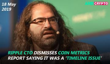 Ripple CTO dismisses Coin Metrics report saying it was a timeline issue, Tron [TRX] futures to soon start trading on OKEx platform and more