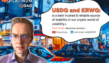 Obtaining Real Stablecoins Usdq And Krwq: Ecosystem Of Q Dao Stablecoins Is Being Developed In Counterweight To Bitfinex`s Scammy Tether. Tradeem All On Btcnext.io