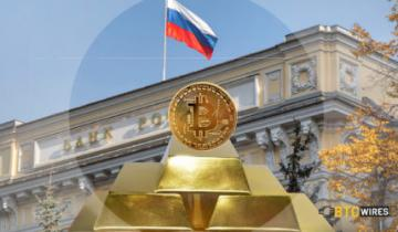 Russias Central Bank Gets Behind the Idea of Gold-Backed Crypto, Reports