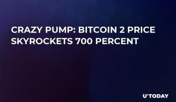 Crazy Pump: Bitcoin 2 Price Skyrockets 700 Percent