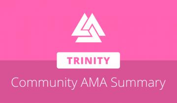 Trinity founder David Li shares development and market perspectives in community AMA