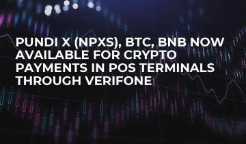 Pundi X (npxs), Btc, Bnb Now Available For Crypto Payments In Pos Terminals Through Verifone