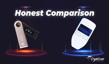 Trezor vs. Ledger: Honest Cryptocurrency Wallets Comparison