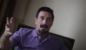 Eccentric Crypto Rebel John McAfee Says the CIA is Chasing Him