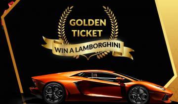 Win a Lamborghini With Leading Bitcoin Faucet FreeBitco.ins Golden Ticket Contest