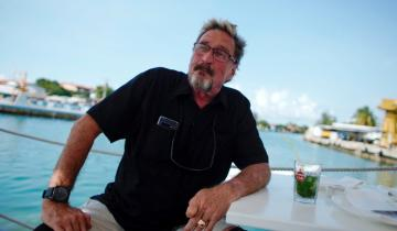 John McAfee Wants You to 'GET A GRIP!' About Bitcoin Price Slump