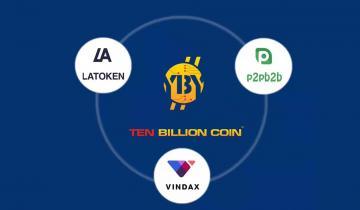 Ten Billion Coin Secures Third Partnership Ahead of Triple IEO Listing