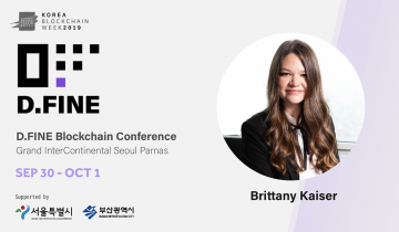 Facebooks Data Privacy Scandal Whistleblower Brittany Kaiser, Promotes Data Rights Activism at KBW 2019