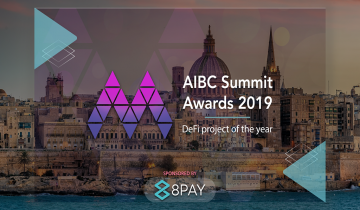 8Pay Sponsors DeFi Project of the Year 2019 Award at Europes Largest Blockchain Conference