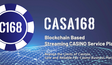 CASA168 Transforms What The Casino Industry Looks Like With The Help Of Blockchain