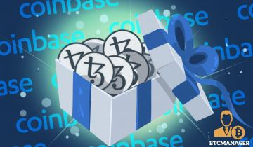 Coinbase Launches Tezos (XTZ) Staking Program for U.S. Traders