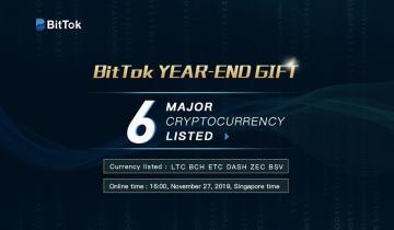 BitTok Launches Mainstream Blockchain Assets