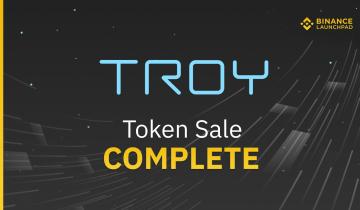 Binance Launchpad: Troy Sale Results