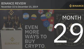 Binance Review, Month 29: The Binance Universe is Growing