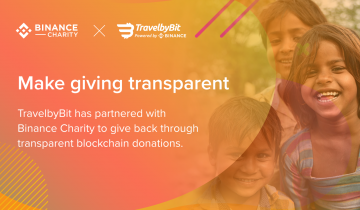 TravelbyBit Partners with Binance Charity to Launch Crypto Donation Matching Program