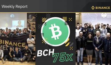 Binance Weekly Report: New Investment, Futures Pair Before the Year Ends