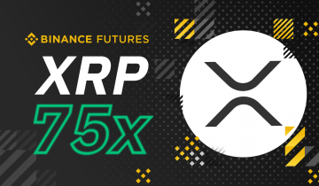 Binance Futures Launches XRP/USDT Contracts with 75x Max Leverage