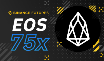 Binance Futures Will Launch EOS/USDT Contracts with 75x Max Leverage